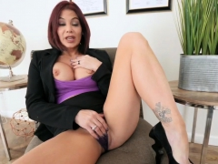 Huge Tits Striptease Milf Ryder Skye In Stepmother Sex