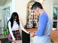 Bambino Feeding Monica His Huge Cock