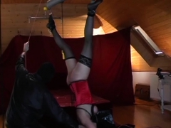 Youthful Sweetheart Gets Choked, Tortured And Set In A Cage