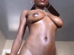 Ebony Beauty Striptease