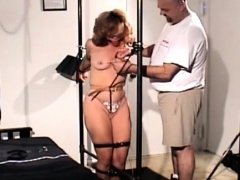 Nasty Sluts Get Degraded In A Real Rough Servitude Session