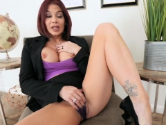 Real Brunette Milf And Triple Ryder Skye In Stepmother