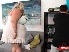 Big Tits Pornstar Tits Fuck With Cumshot