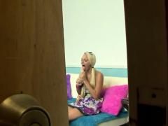 Lip Smacking Teen Enjoys Engulfing Her Fellows Giant Dick
