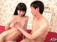 Japanes Gal Gets Her Bald Love Tunnel Licked And Toyed Hard