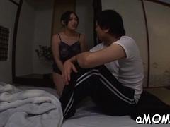 Delicious Babe Yuki Saegusa Is Masturbating After Dinner