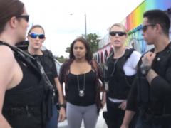 Milf Cops Make Snatcher Bang Their Cunts