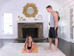 Hot Teen Gyrates Her Hips For Instructor
