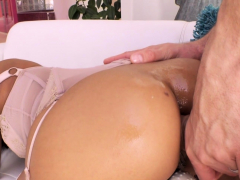 Asian Anal Slut Ember Snow!