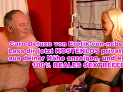 German Young Femdom Teen Punish Old Man