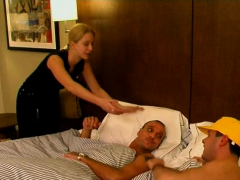 Shaft Riding Scene With A Dissolute Teen Blonde Klaartje