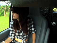 Cocksucking Teen Hitchhiker Getting Toyed
