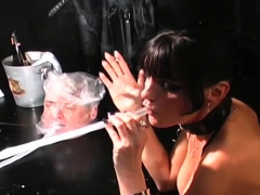 Enjoy Naughty Dominatrix And Dirty Big Knob Going At It