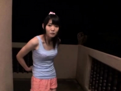 Captivating Oriental Young Sayaka Otonashi Is Masturbating