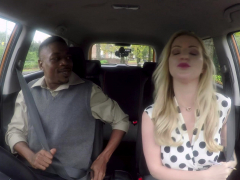 Fake Driving School Georgie Lyall Gets A Huge Black Dick