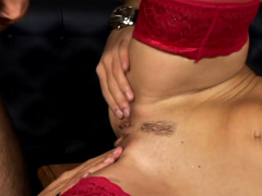 Stupefying Brunette Kristina Gets Licked And Teased