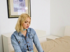 Blonde Teenager Analized