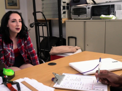 White Hottie Is Interviewed By Horny Casting Director