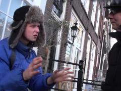 Pretty Amsterdam Hooker Rides A Large Hard Knob Passionately