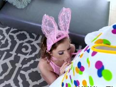 Teen Fucks Easter Bunny