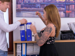 Receptionist Lara Duro Gets Asked To Come In To Help Her