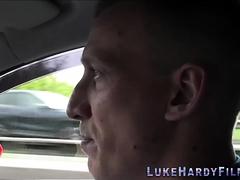 Spex Brit Getting Banged