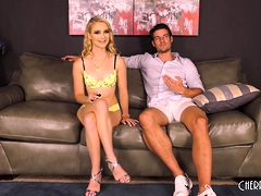 All-natural Blonde Anastasia Knight Loves How Jay Smooth