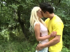 Exquisite Blonde Russian Treza Does Cock Suck And Cave Fuck