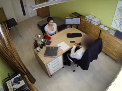 Loan4k. Naughty Agent Tells Adorable Girl