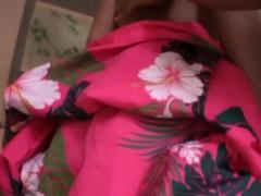 Spicy Oriental Nao Yoshioka Caresses Fat Dick