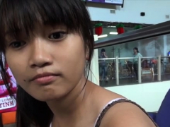 Succulent Young Asian Floosy Enjoys Hardcore