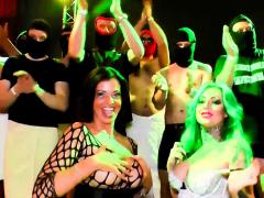 German Hardcore Creampie And Cum Inside Party