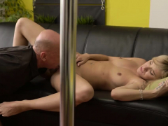 Chub Daddy Fuck And Monster Would You Pole-dance On My