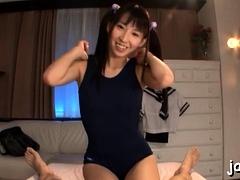 Slender Minx Yuuki Can't Stop Cumming From Sex