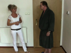 He Gets Angry Finding Old Couple Fucking Teen Gf