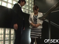 Lustful Asian Chihara Nakai Getting Ready To Masturbate