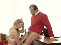 Teen 18 Gangbang Stranger In A Large Mansion Knows How To