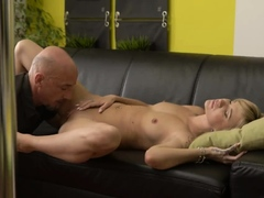 Teen Teases Old Man Xxx Would You Pole-dance On My Dick?