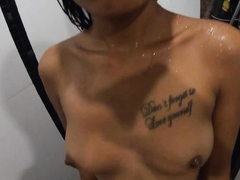 Amateur Teen Couple Having Horny Sex In The Shower