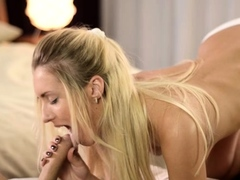 Sex-starved Blonde Lady Jassie Gold Fucked Well