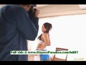 Kokomi sakura, teen asian girl at a photo shoot