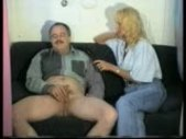 Showing interviewer how he gets a hard-on