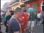 The men moon, the women flash and Mardi Gras continues (CLIP)