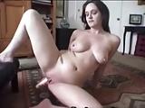 Big tits girl masturbate