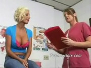 Brit gets her annual gyno and anal exam