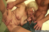 I just fucked my wife s old mom