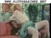 Classic retro blonde and brunette anal sluts