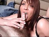 British MILF slut Penelope fucks and sluts