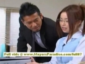 Risa Kasumi Sexy Office Worker Enjoys Fucking Her Co..