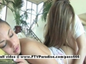 Sweet Girls Tara And Danielle,  Lesbian Teen Girls..